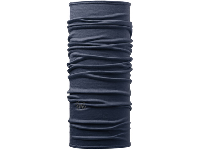 Buff Lightweight Merino Wool Tubo de cuello, azul